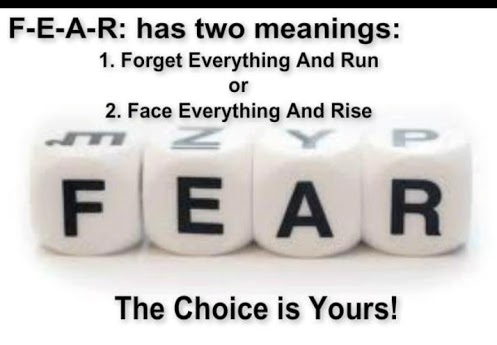 Facing FEAR....